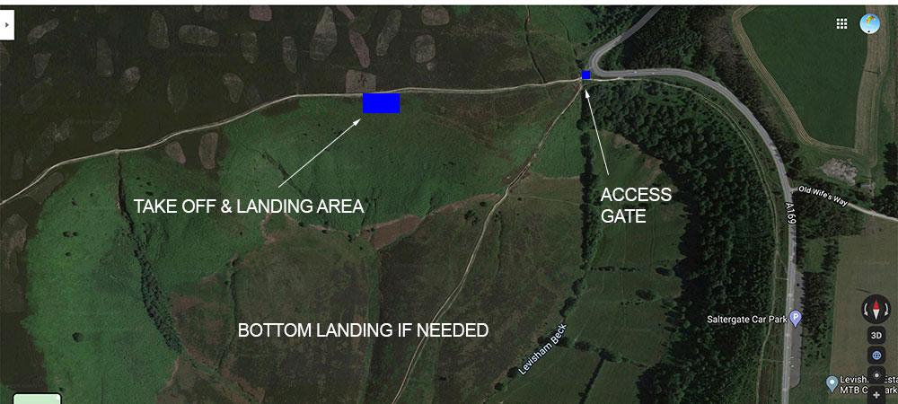Paragliding-Map-Horcum