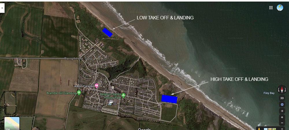 Paragliding-Reighton-Map